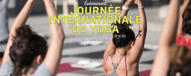 Mercredi 21 juin: du Yoga à la Mairie du Neuf !